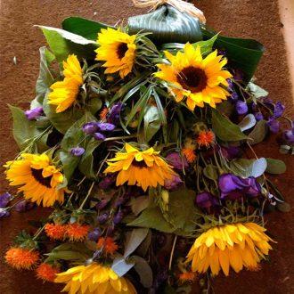 Tied Floral Sheaf